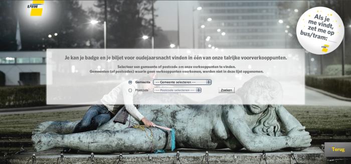 Tim Smits website De Lijn