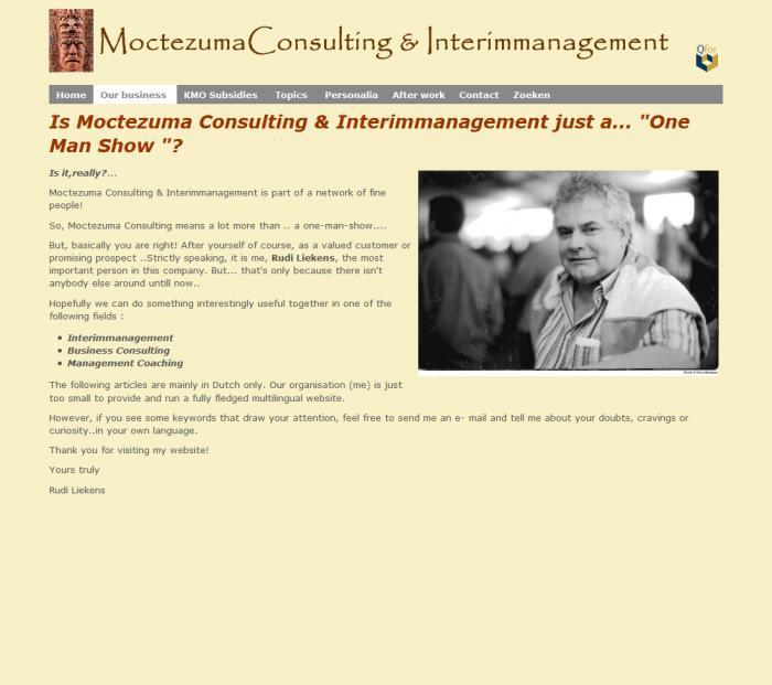 Tim Smits website moctezuma