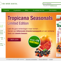 Tim Smits website Tropicana